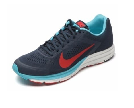 NIKE ZOOM STRUCTURE+ 17 BLU/ROSSO