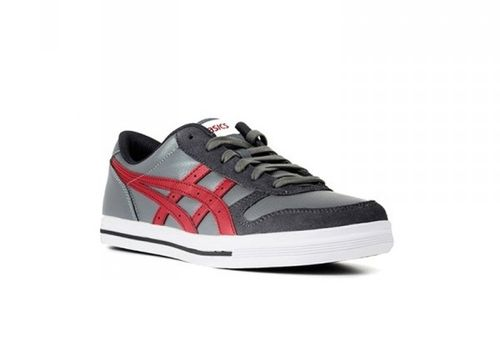 ASICS AARON HY526-1125 LIGHT GREY BURGUNDY