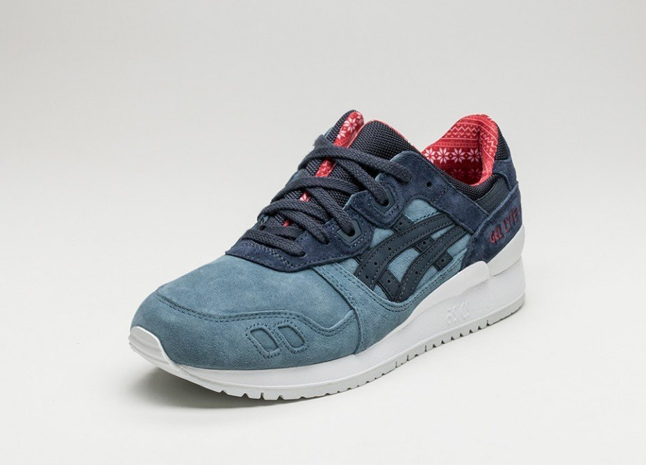 ASICS GEL LYTE III H6X4L 4650 BLUE MIRAGE INDIA INK SHOES